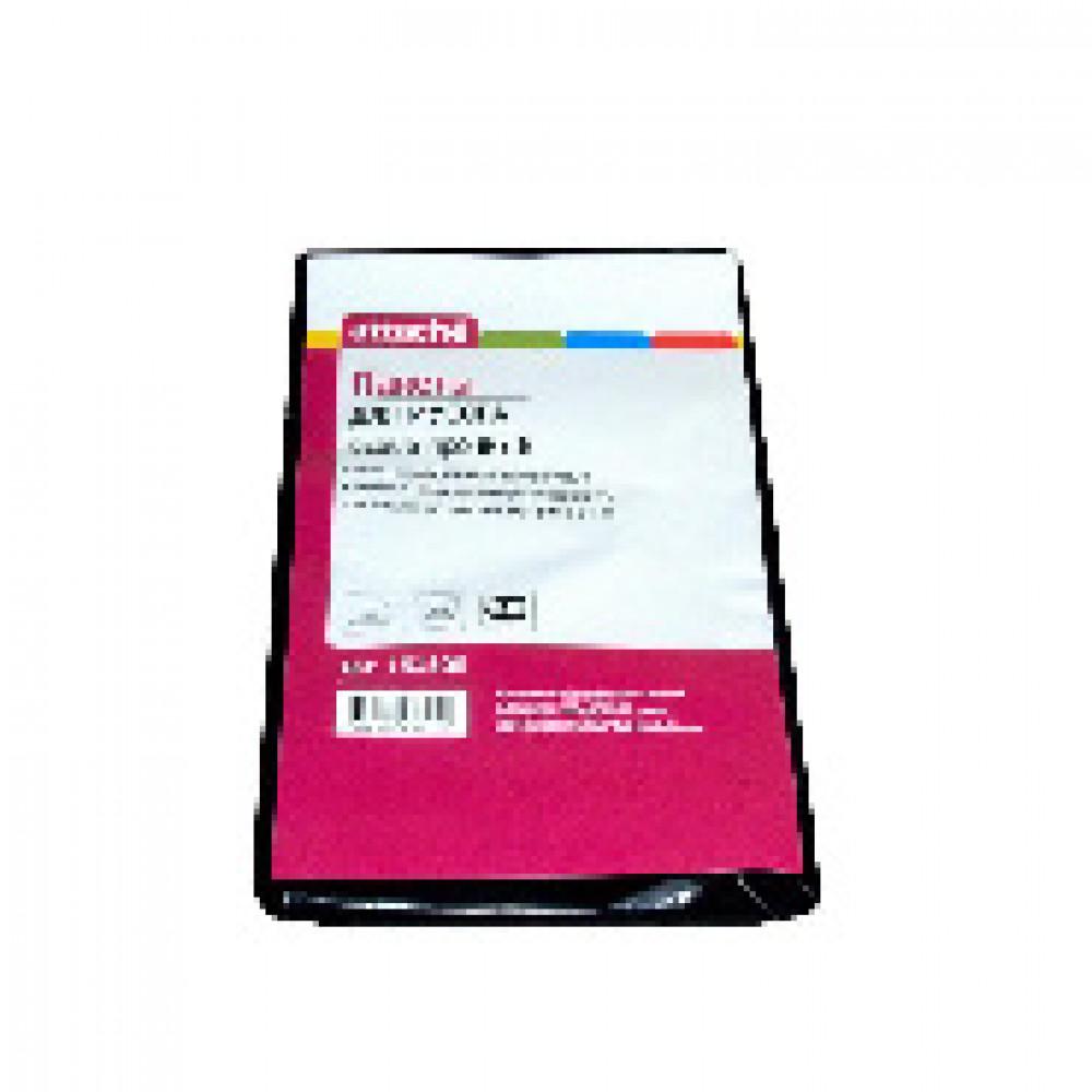 Мешки для мусора на 120 литров Attache черные (55 мкм, в пачке 5 штук, 70x110 см)