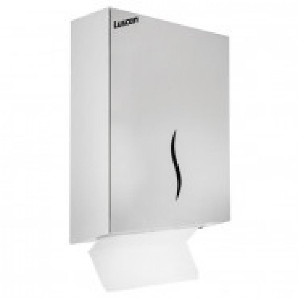 Диспенсер для полотенец Luscan Professional Z-сложения 400 л металл 0904