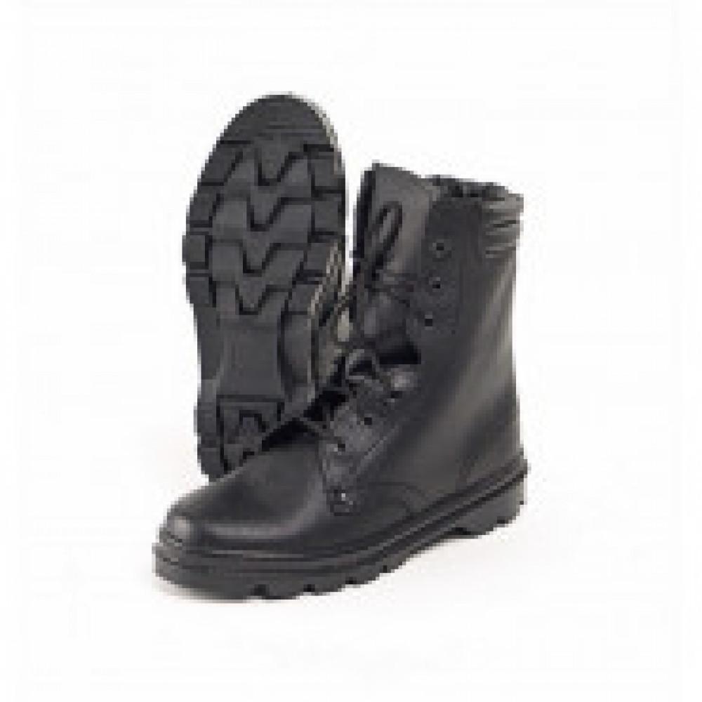 Ботинки  ОМОН  с высоким берцем юфтевые (р.45)