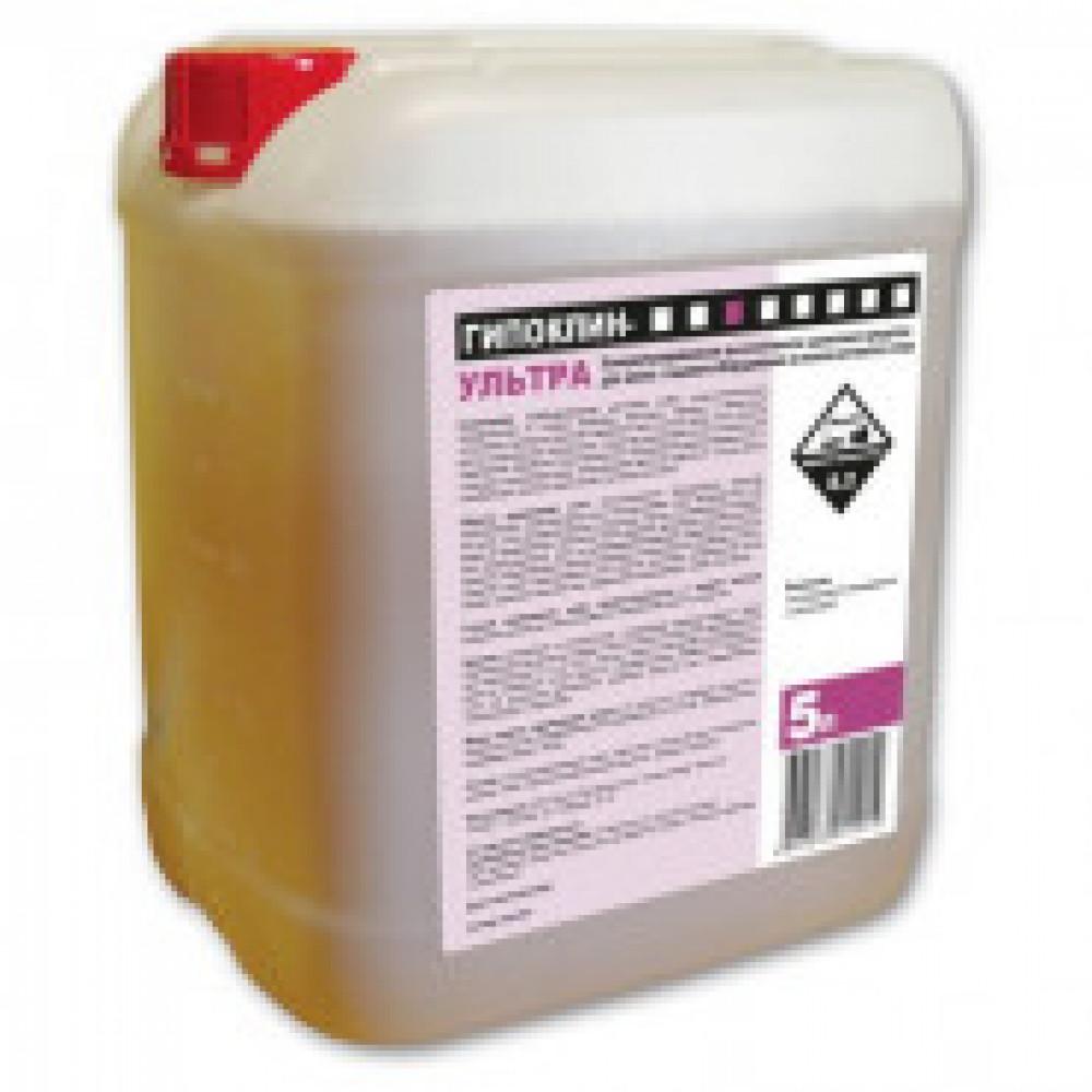 Моющее средство мойки пищевого оборудования Бриллиант Гипоклин Ультра 5 л (концентрат)