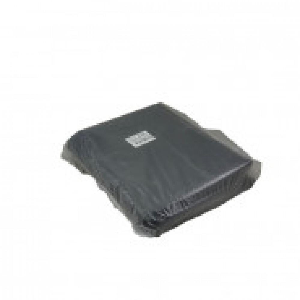 Мешки для мусора на 120 литров черные (50 мкм, в упаковке 50 штук, 70х110 см)