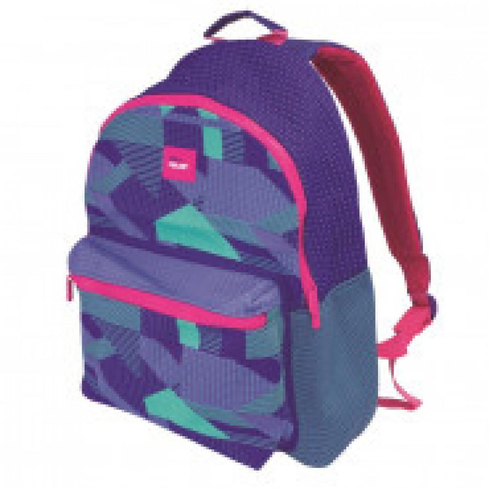 Рюкзак Knit, фиолетовый 41x30x18 см, вместиомсть 21л, 624605KNPL