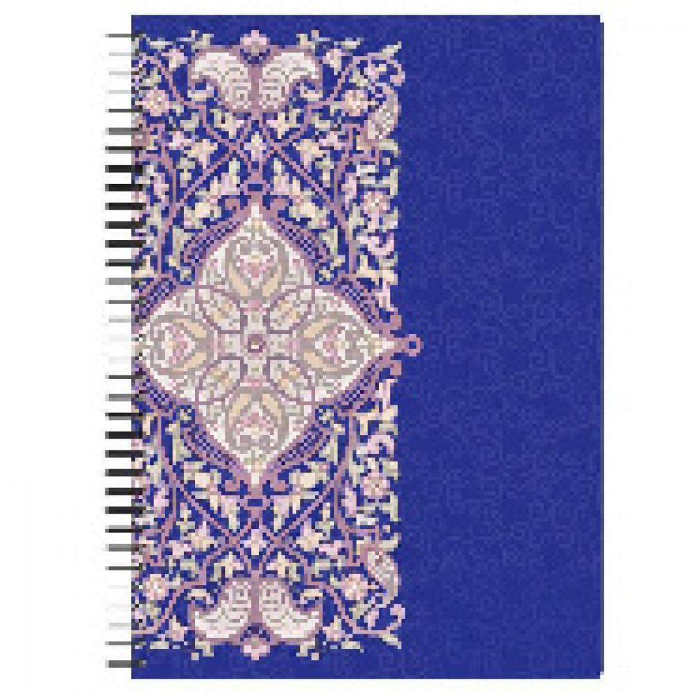 Бизнес-тетрадь 80л,А4,Arabeska,300х210мм,70г/квм, фиолетовый