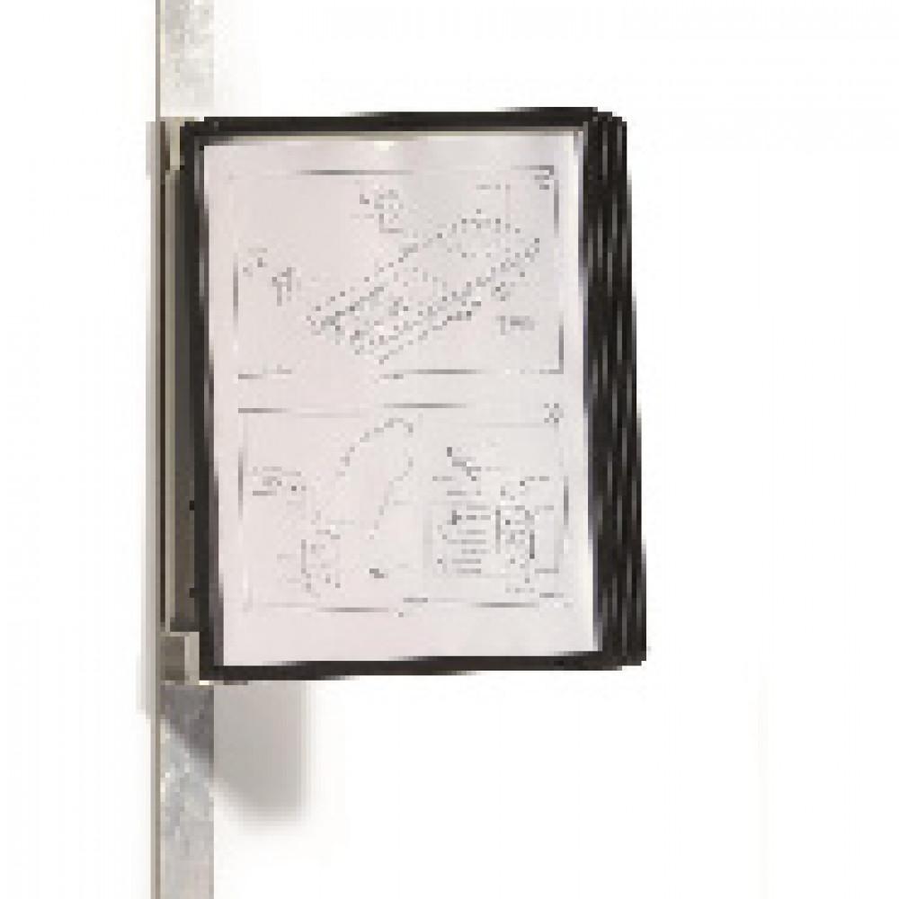 Демосистема настенная Демо-система DURABLE Vario Magnet 5914, 5син.панелей