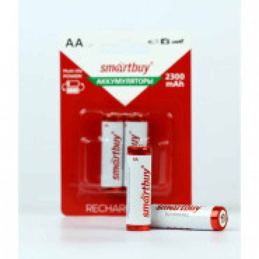 Аккумулятор Smartbuy 2300 mAh AA/2BL NiMh 2шт/бл (SBBR-2A02BL2300)