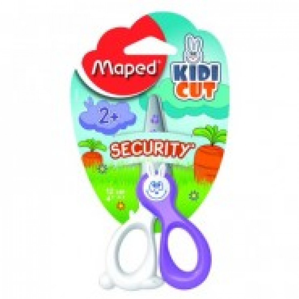 Ножницы детские Maped Kidicut,12 см, пластик.симметр.ручки 37800