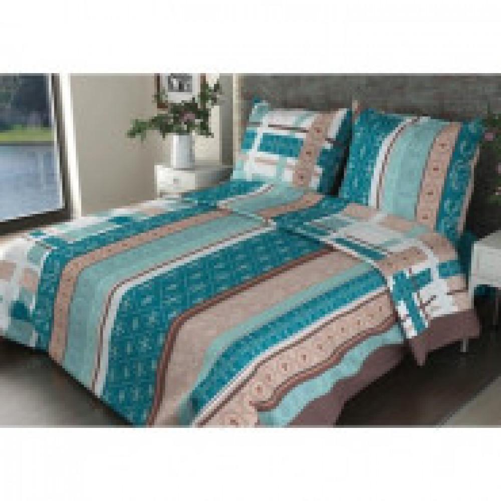 Комплект постельного белья 1,5 сп бязь 145 гр/м2набивн.(150Х210)