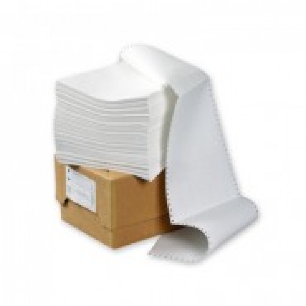 Перфорированная бумага Promega 210мм 1-сл.,шаг12 ,бел.90%,НП,  1500л/уп