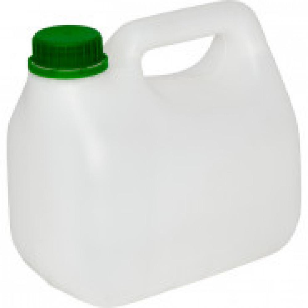 Канистра пластиковая 2 литра, с крышкой