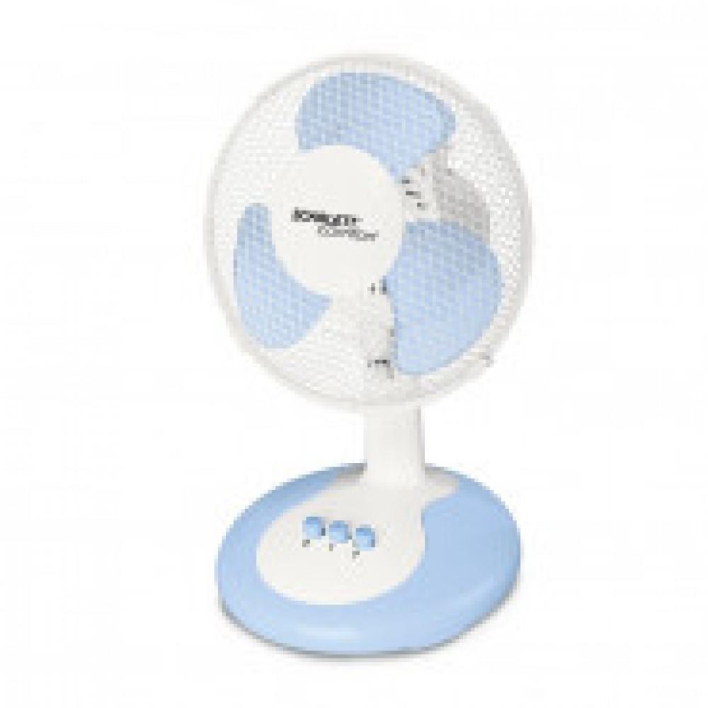Вентилятор настольный Scarlett SC-DF111S06,22,5 см, цв.синий