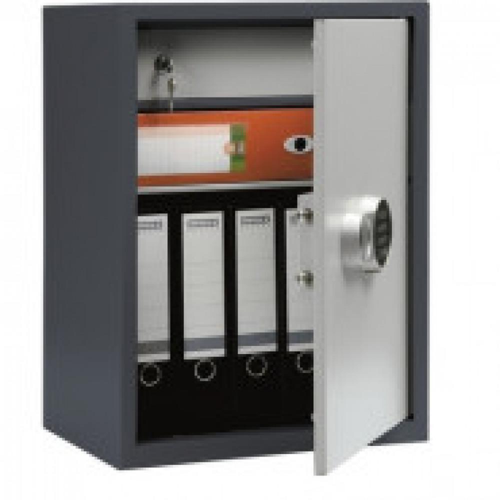 Метал.Мебель AIKO SL-65T-EL шкаф д/бумаг, эл.замок, 460х340х630