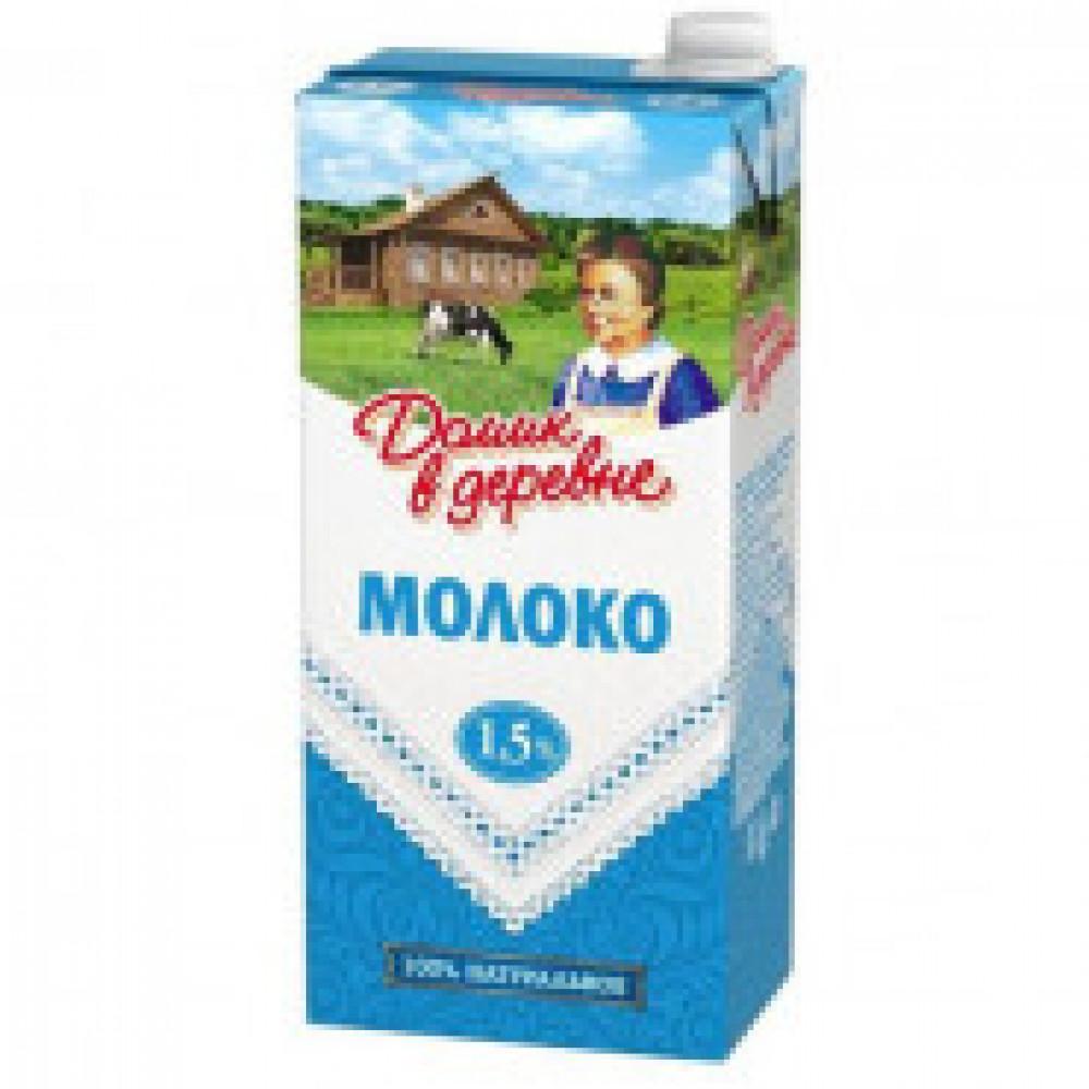 Молоко Домик в Деревне 1,5% 950г