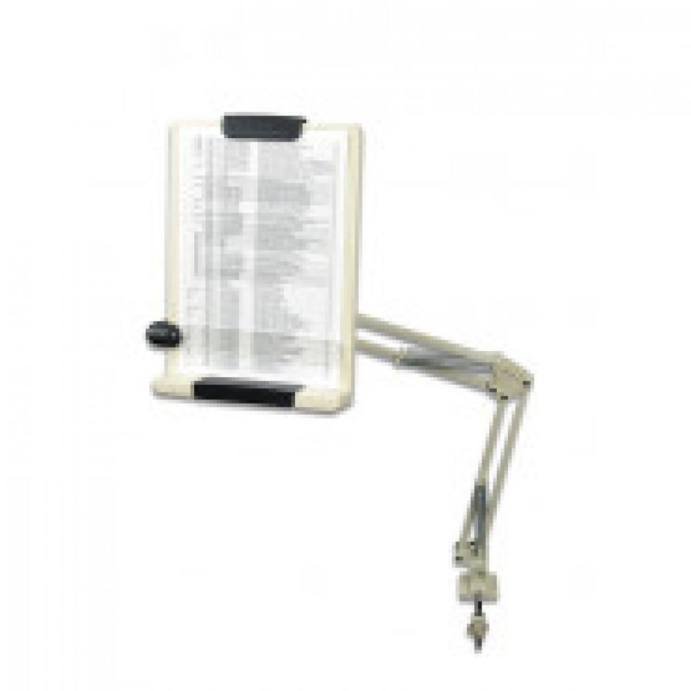 Держатель для бумаг А4 ProfiOffice HD-3LA на струбцине серый