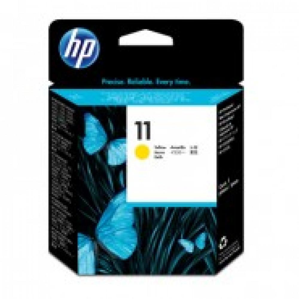 Головка печатающая HP 11 C4813A жел. для OJ 9120/9130