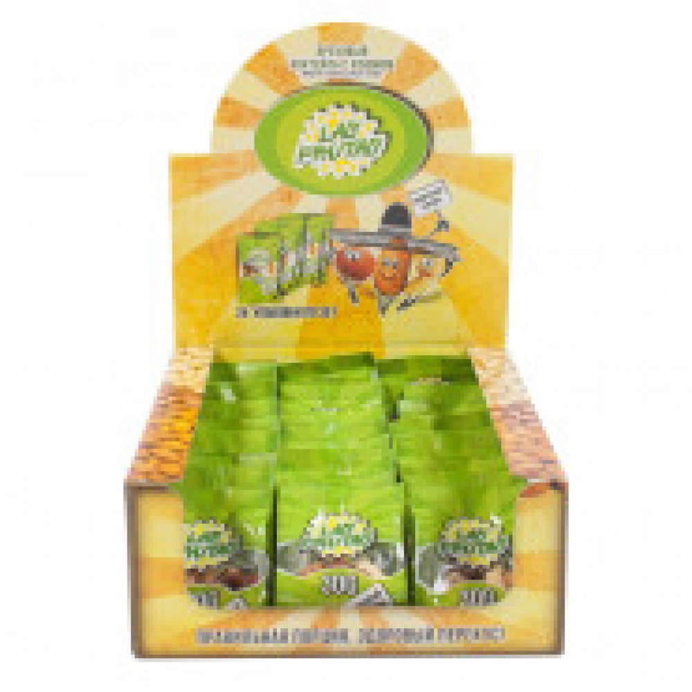 Орехи Las Frutas  микс с изюмом (миндаль, кешью, фундук, изюм), 24шт х 30г