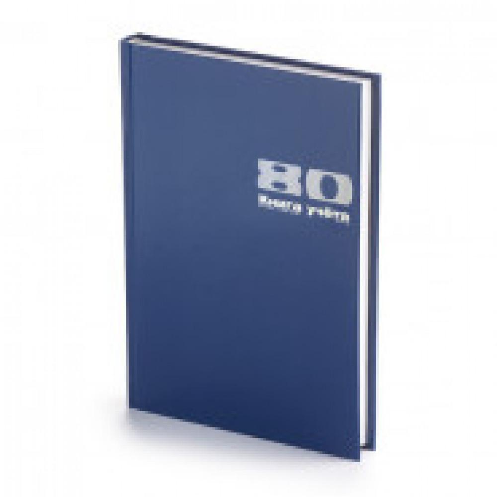 Книга учета бухгалтерская Альт офсет А4 80 листов в клетку на сшивке (обложка - бумвинил) (артикул производителя 7-80-111/1)
