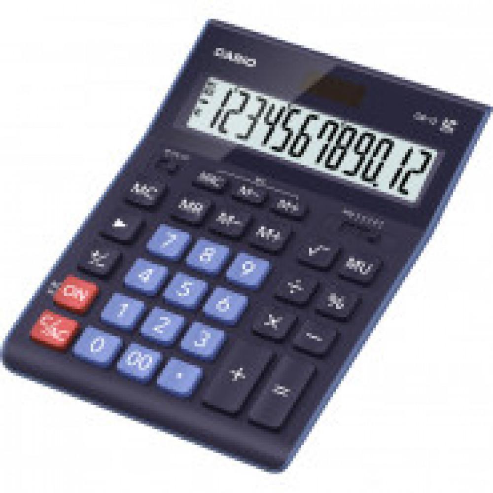 Калькулятор настольный Casio GR-12-BU 12 разрядов, цвет синий