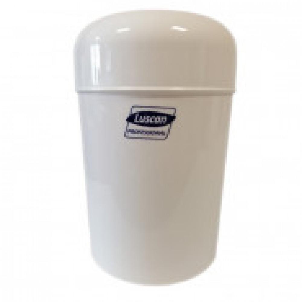 Корзина для мусора Luscan Professional настенная 15л белая 3522W