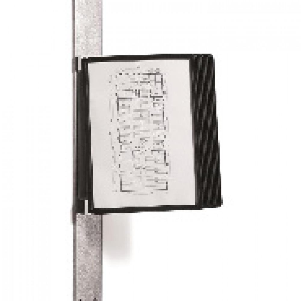 Демосистема настенная Демо-система DURABLE Vario Magnet 5918, 10черн.панел.