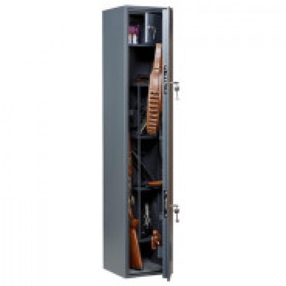 Сейф AIKO  Беркут-150 , оружейный, 4 ствола, 2 ключ.замка