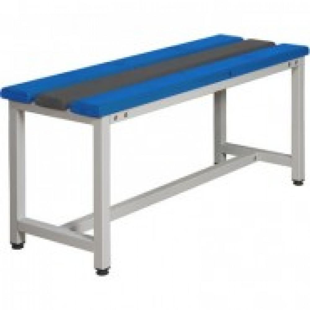 Метал.Мебель К_СКП1-2000 скамья пластик, 2000х350х480