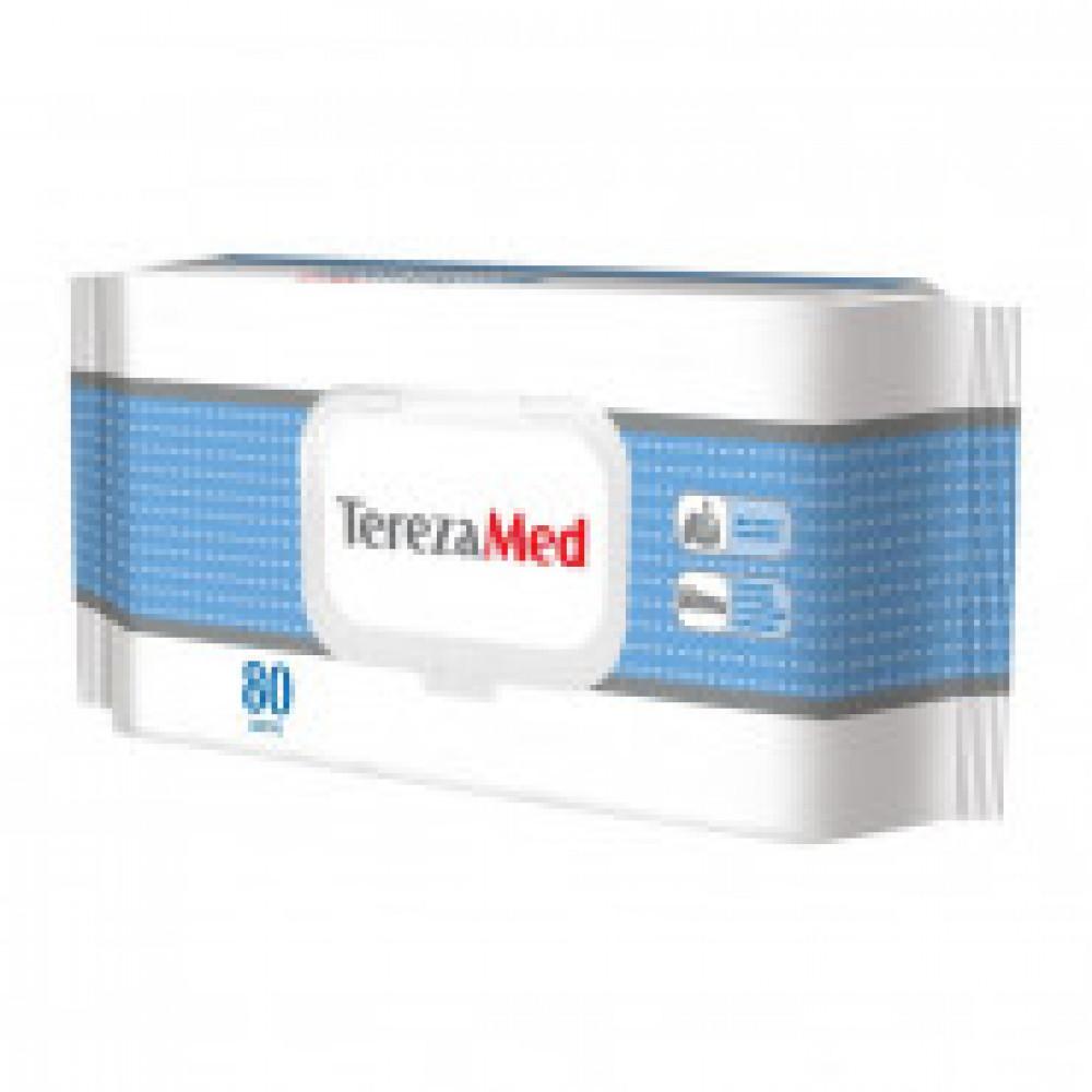 Влажные салфетки Tereza Med 80 штук в упаковке