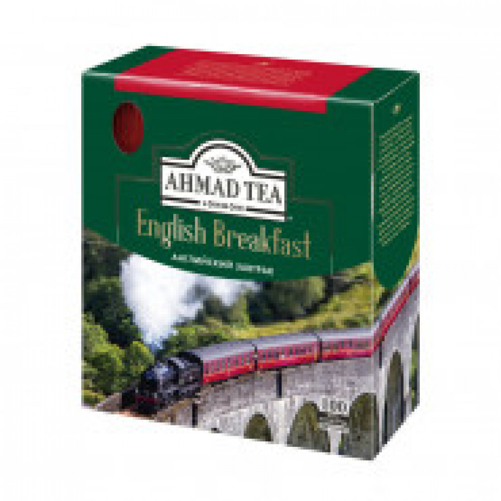 Чай Ahmad English Breakfast черн100пак/уп48062