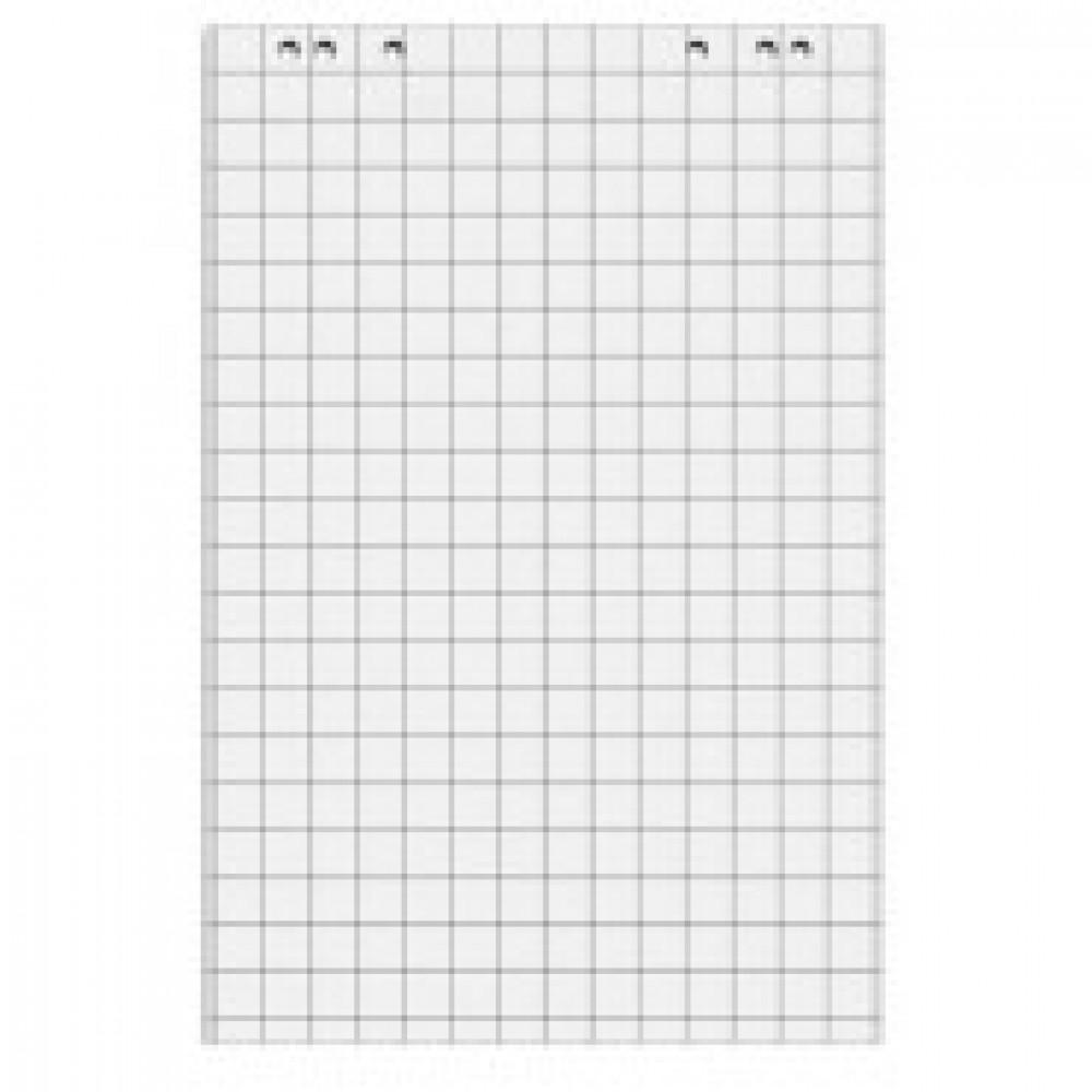 Бумага для флипчартов Блок клетка 67,5х98 20 лист. 5 бл/уп 80гр.