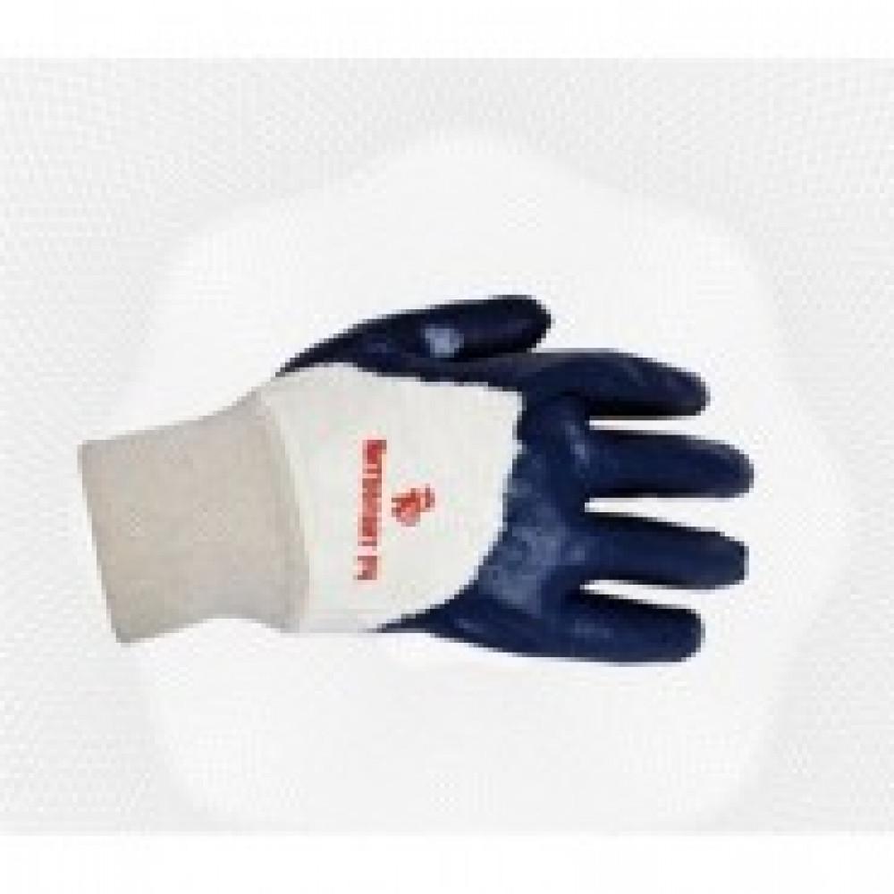 Перчатки защитные Ампаро Нитролайт не полное нитрилов покр резинка (448595)