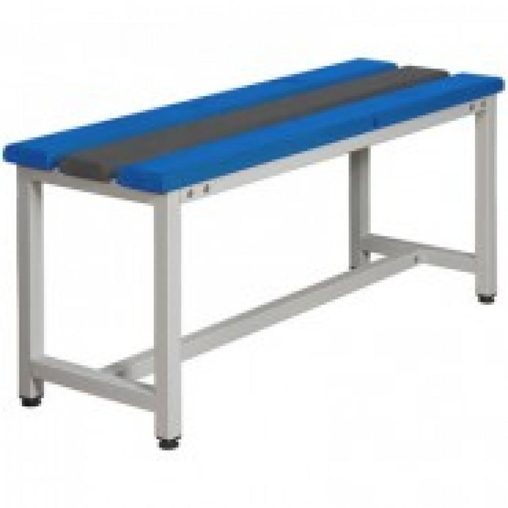 Метал.Мебель К_СКП1-1000 скамья пластик, 1000х350х480