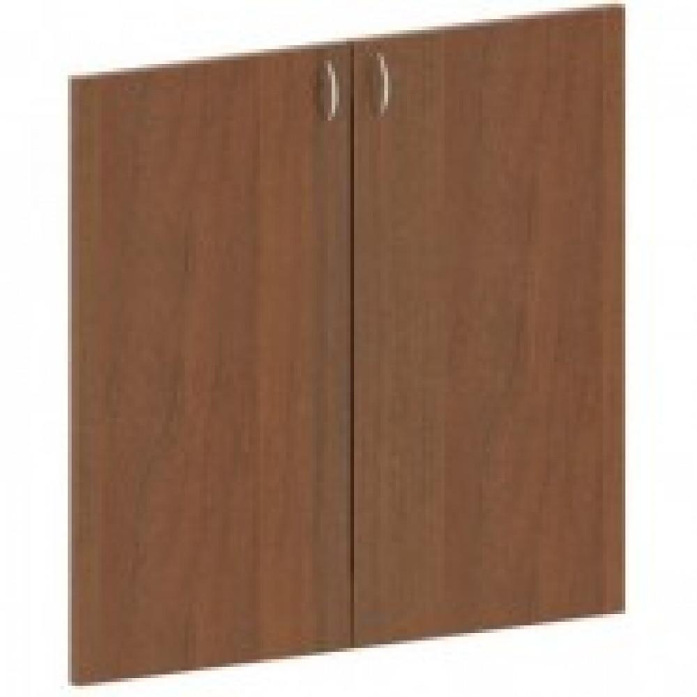 Двери низкие Этюд (комплект, орех)