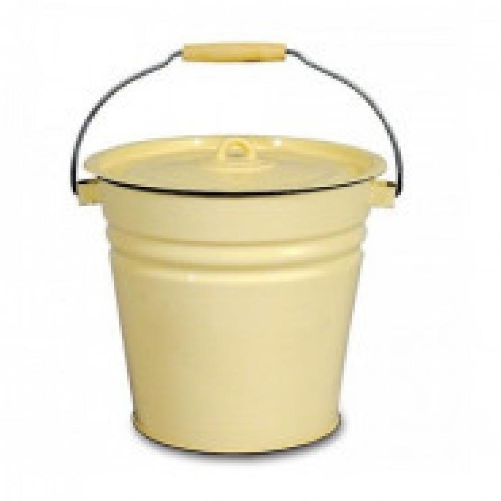 Ведро эмалированное Appetite с крышкой 12 л диаметр 30 см (артикул производителя 2с28)