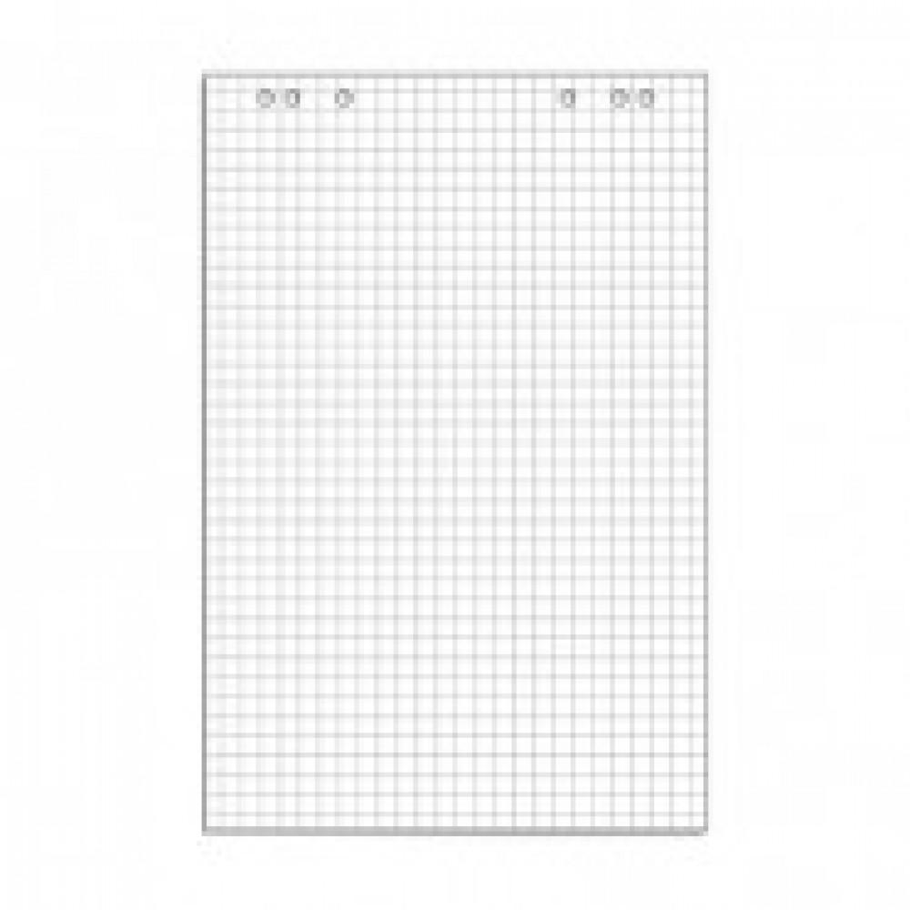 Блок бумаги для флипчартов клетка 67,5х98 50 лист. 80гр.
