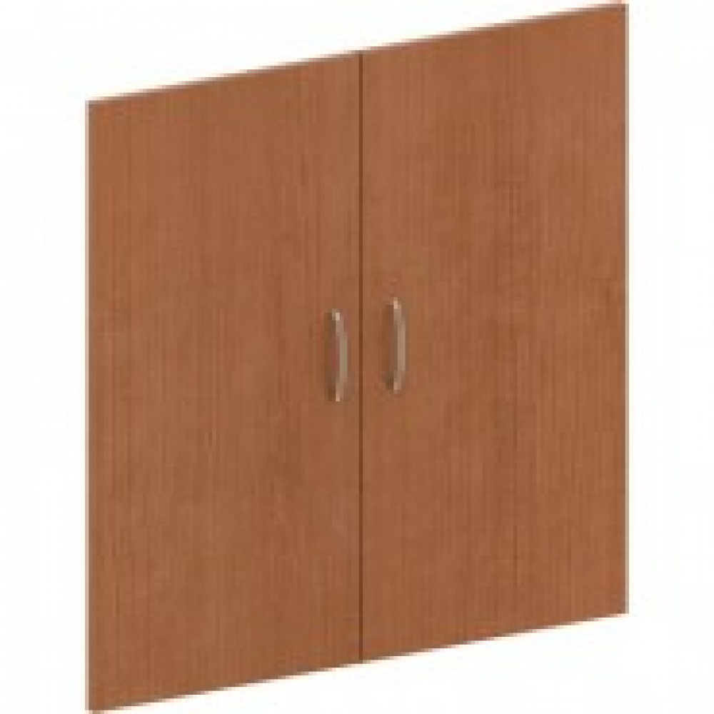 Двери низкие Эталон (2 штуки, ЛДСП, высота 806 мм, орех гварнери)