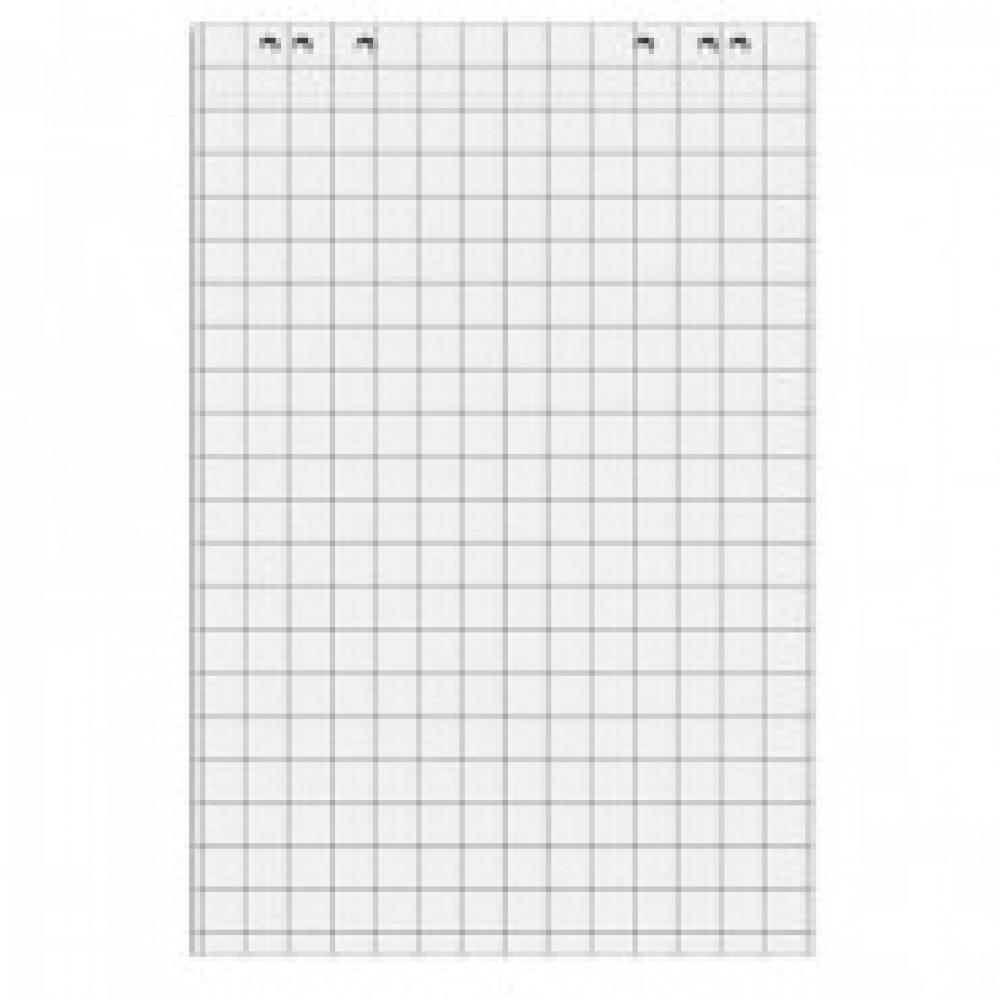 Блок бумаги для флипчартов клетка 67,5х98 50 лист. 5 бл/уп 80гр.