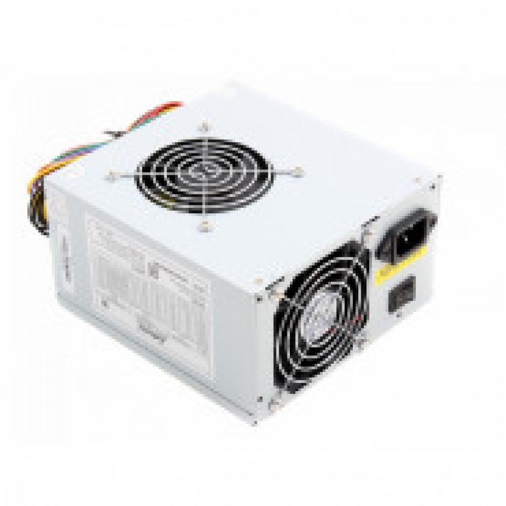 Блок питания LinkWorld ATX 500W LW2-500W case (24+4pin) 80mm fan 3xSATARTL