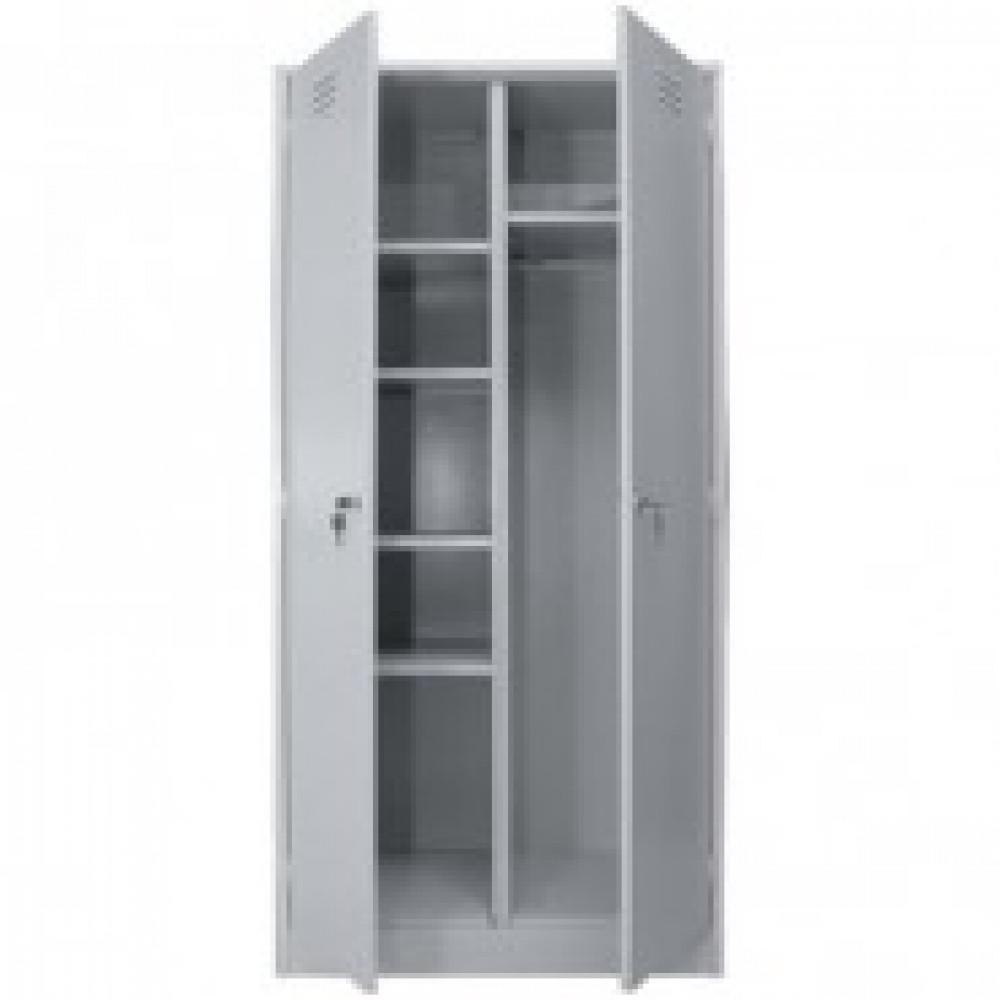 Метал.Мебель P_ШРМ-22/800У шкаф хозяйственный, 2 дв., 800х500х1860