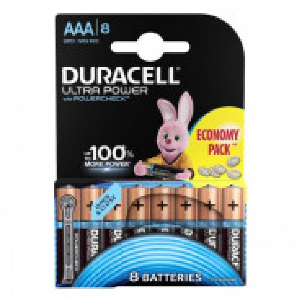 Батарейка DURACELL UltraPower AAA LR03-8BL, 8шт/бл