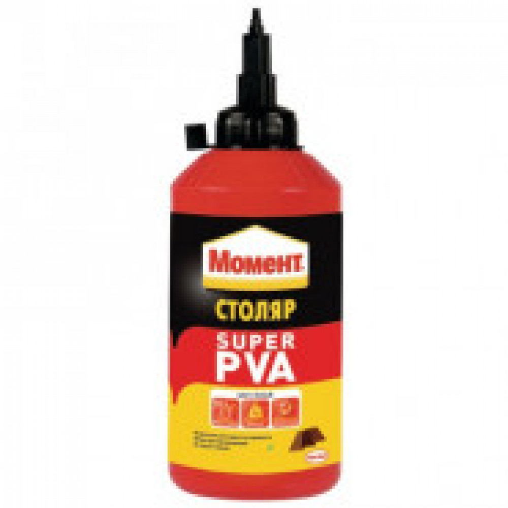 Клей для дерева  Момент Столяр Super PVA , 750 г (422988)