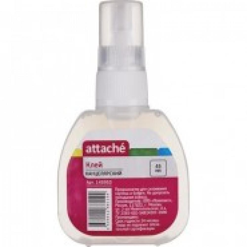 Клей канцелярский синтетический 45мл Attache