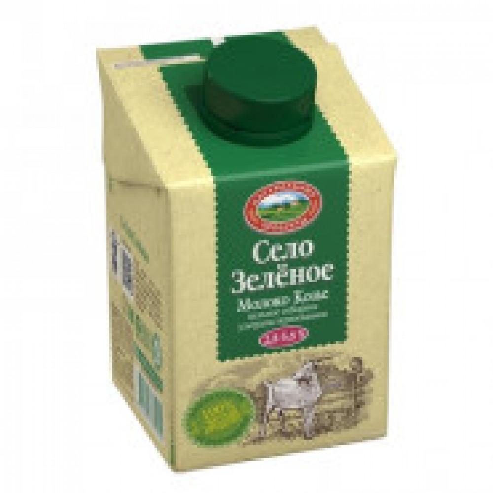 Молоко козье У/паст отборное  0,5кг (0,487л) СелоЗеленое