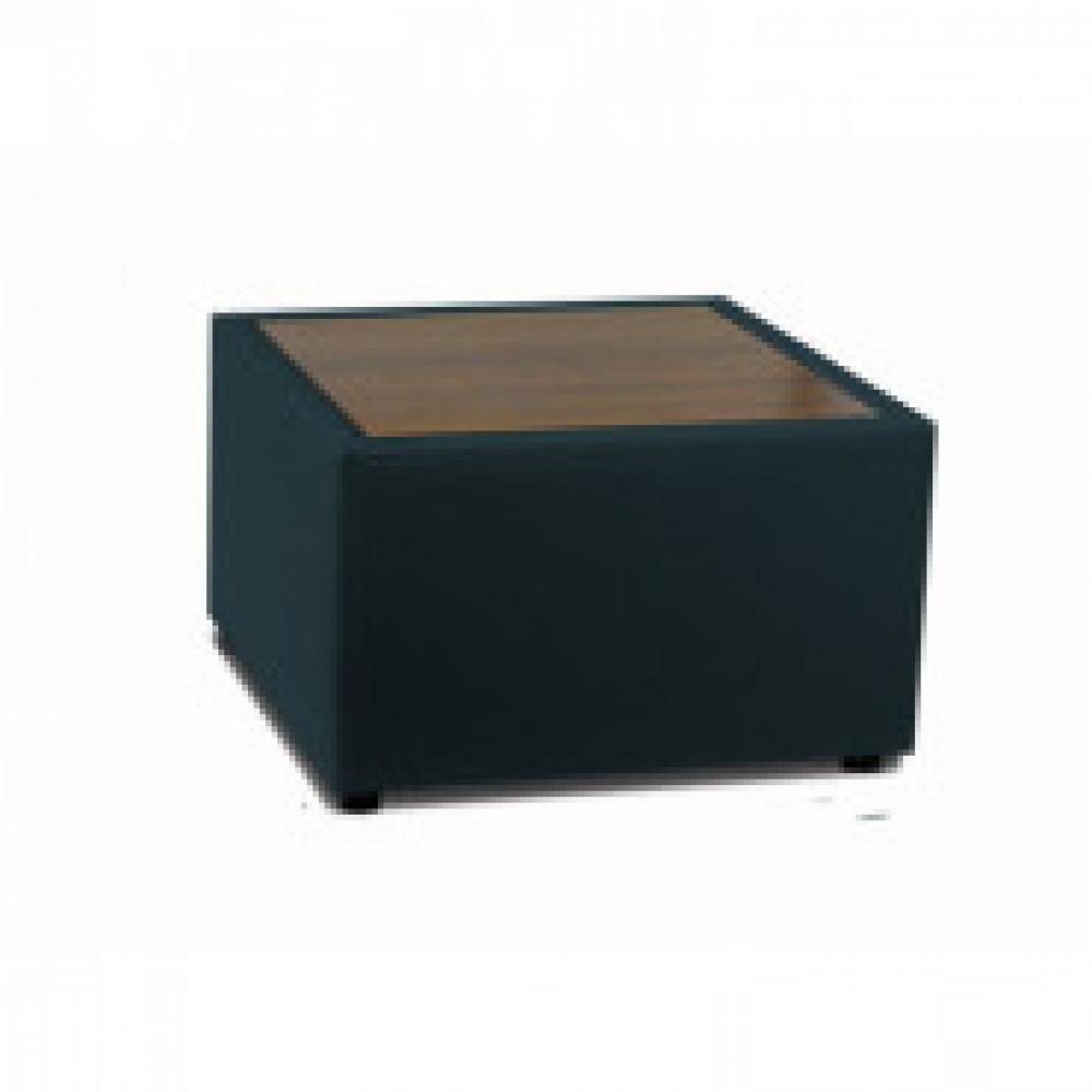 Стол для модульной мебели MV_Матрикс орех к/з черный Or 16