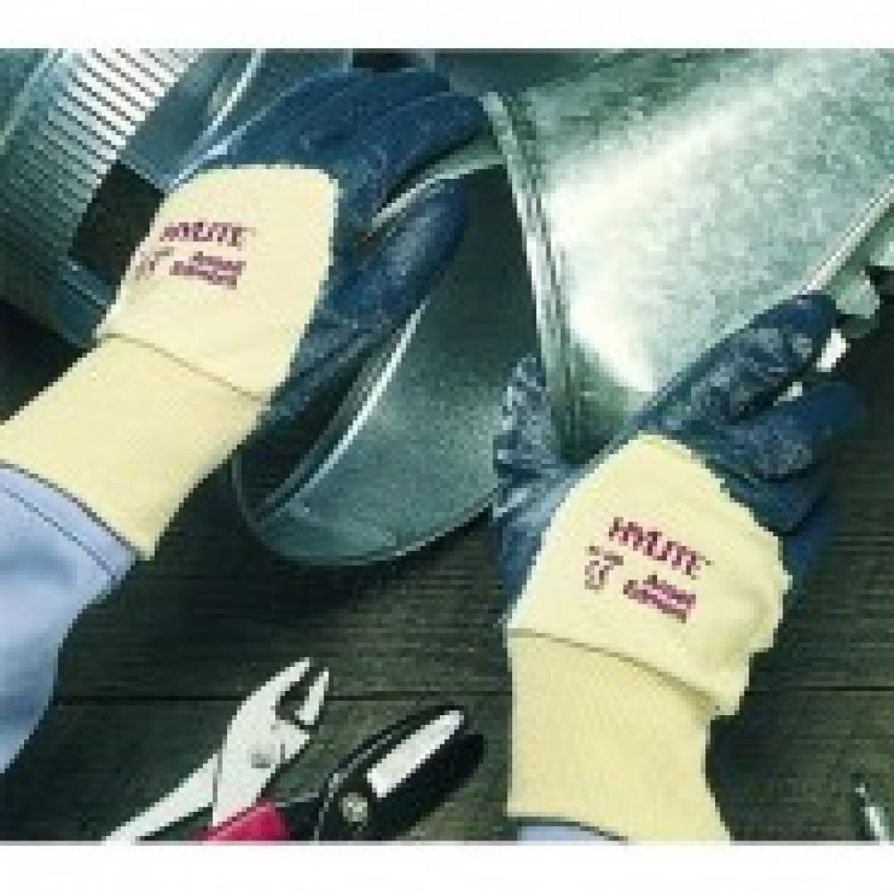 Перчатки защитные Ansell ХАЙЛАЙТ неполное нитрил покр резинка (47-400)р.10