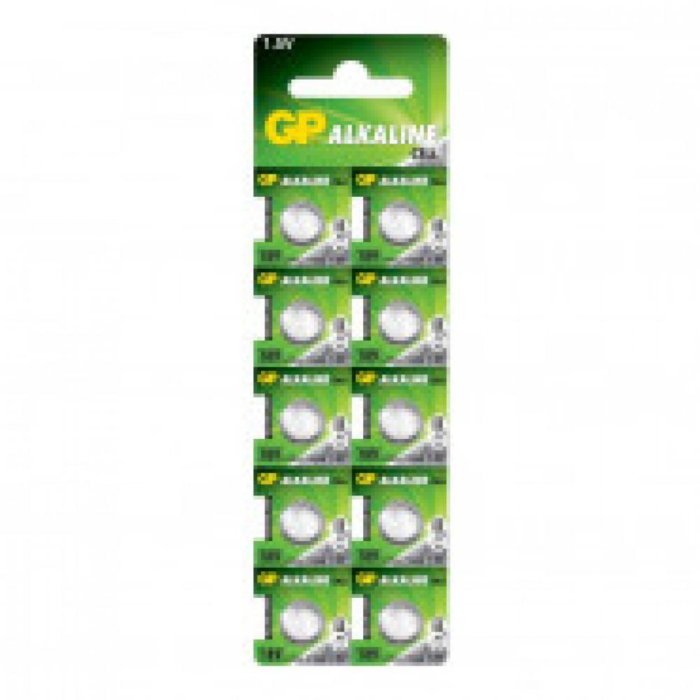 Батарейка GP AG10/LR1130, алкалин., бл/10