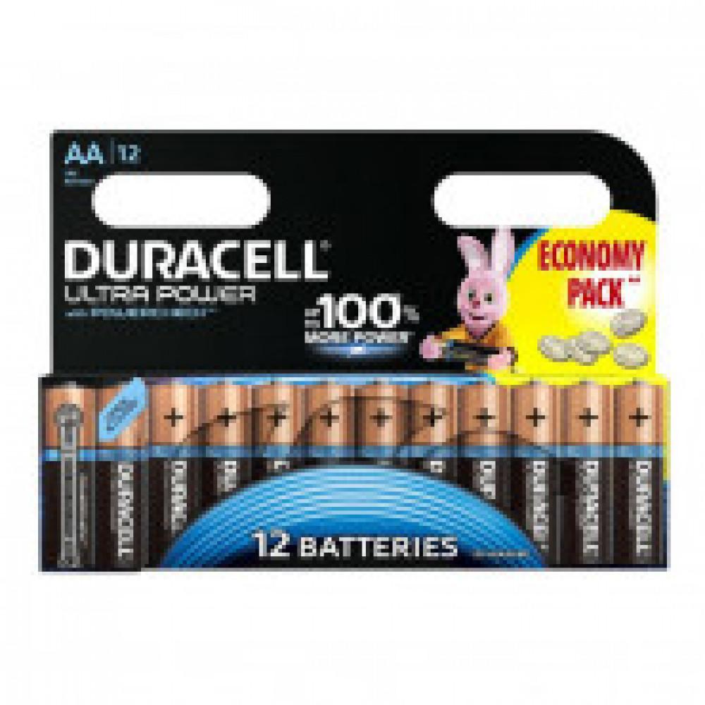 Батарейка DURACELL UltraPower AA LR6-12BL, 12шт/бл