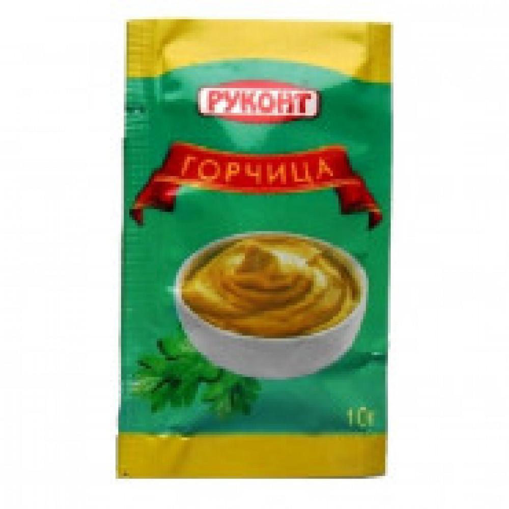 Приправа горчица русская Руконт порц. 10г/шт 50 шт/уп