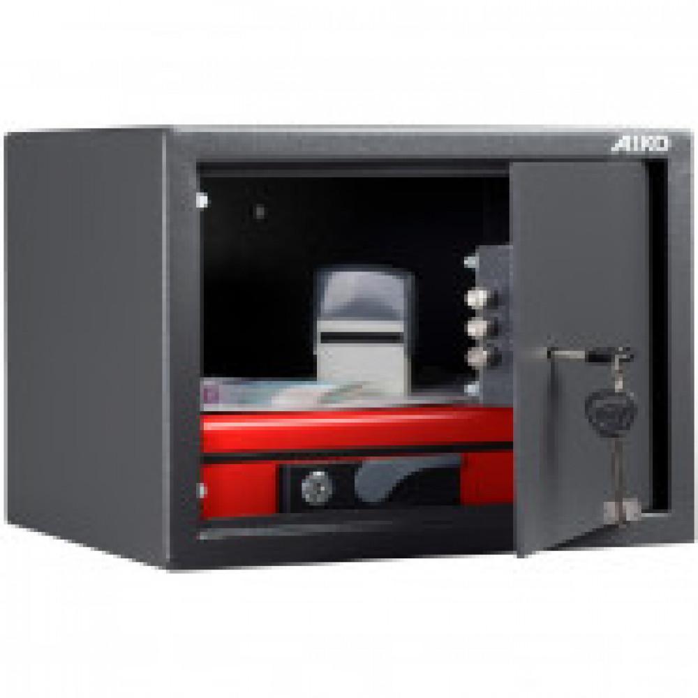 Сейф AIKO SM-25 мебельный, ключ.замок