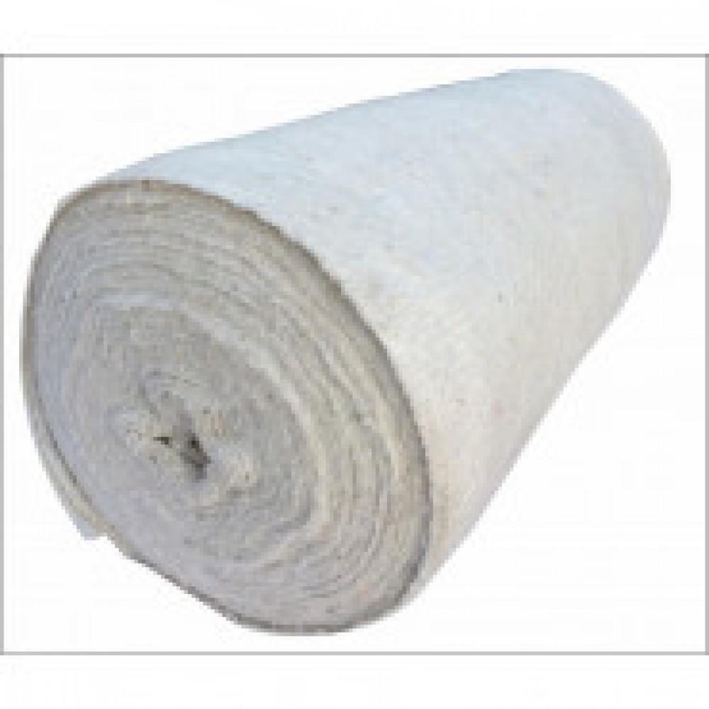 Полотно техническое холстопрошив белое 2,5мм (50мх80+/-5см,пл.180 г/кв.м)