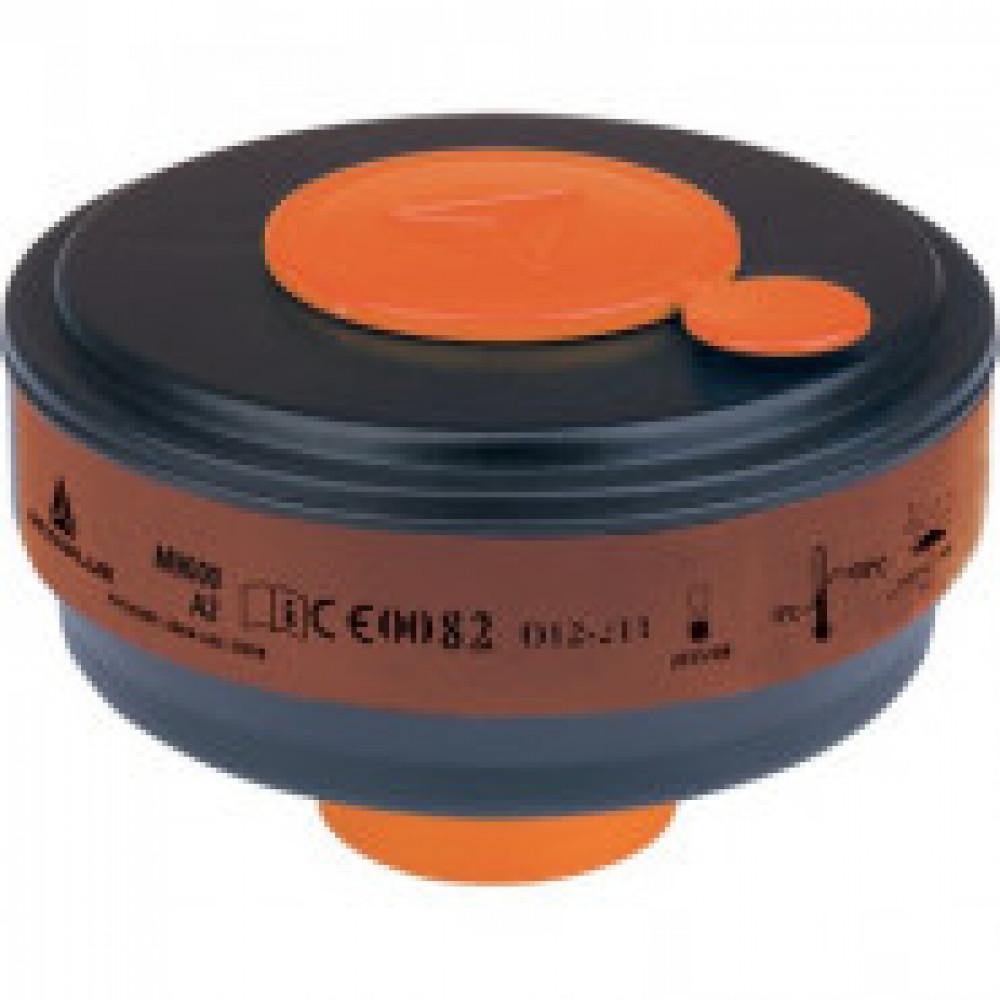 Патрон противогазовый DELTA PLUS марка A2 органичес газов уп 4 шт (M9000A2)
