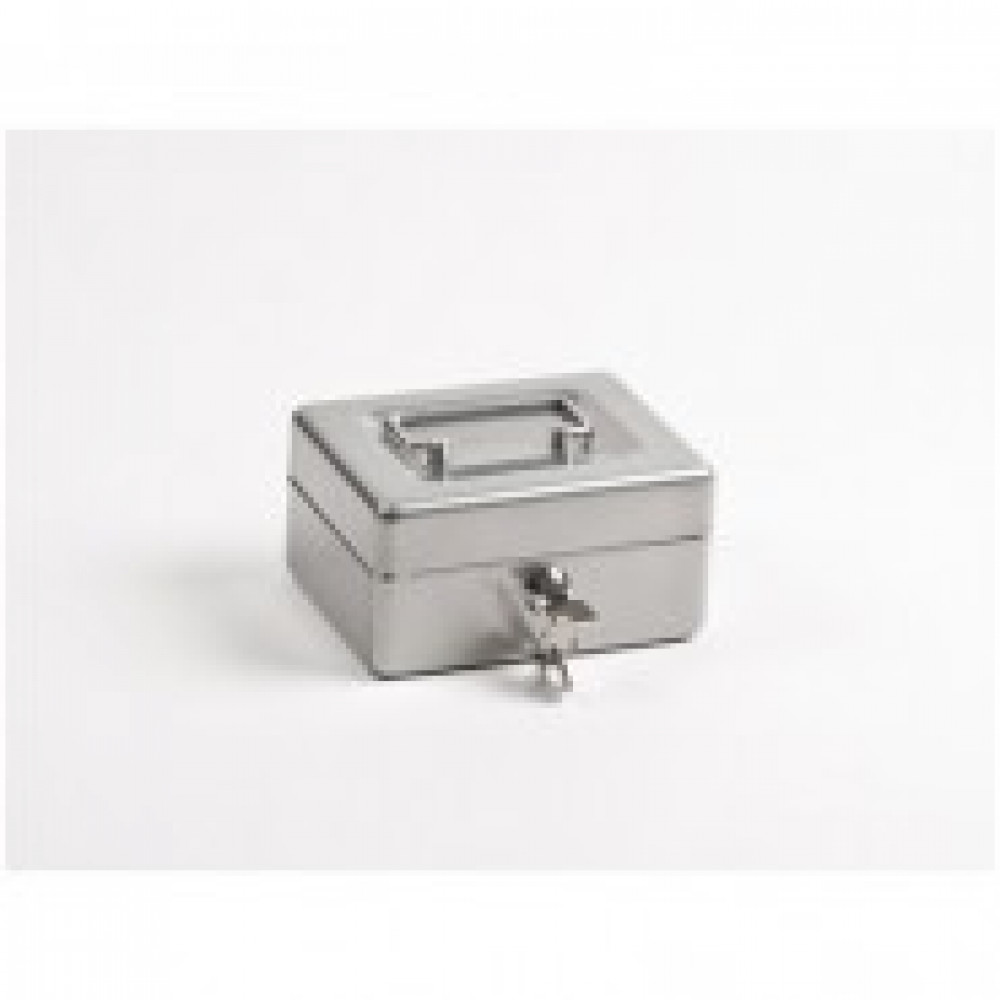 Метал.Мебель Office-Force Т35 Кешбокс10035 ключ,сереб152х118х80